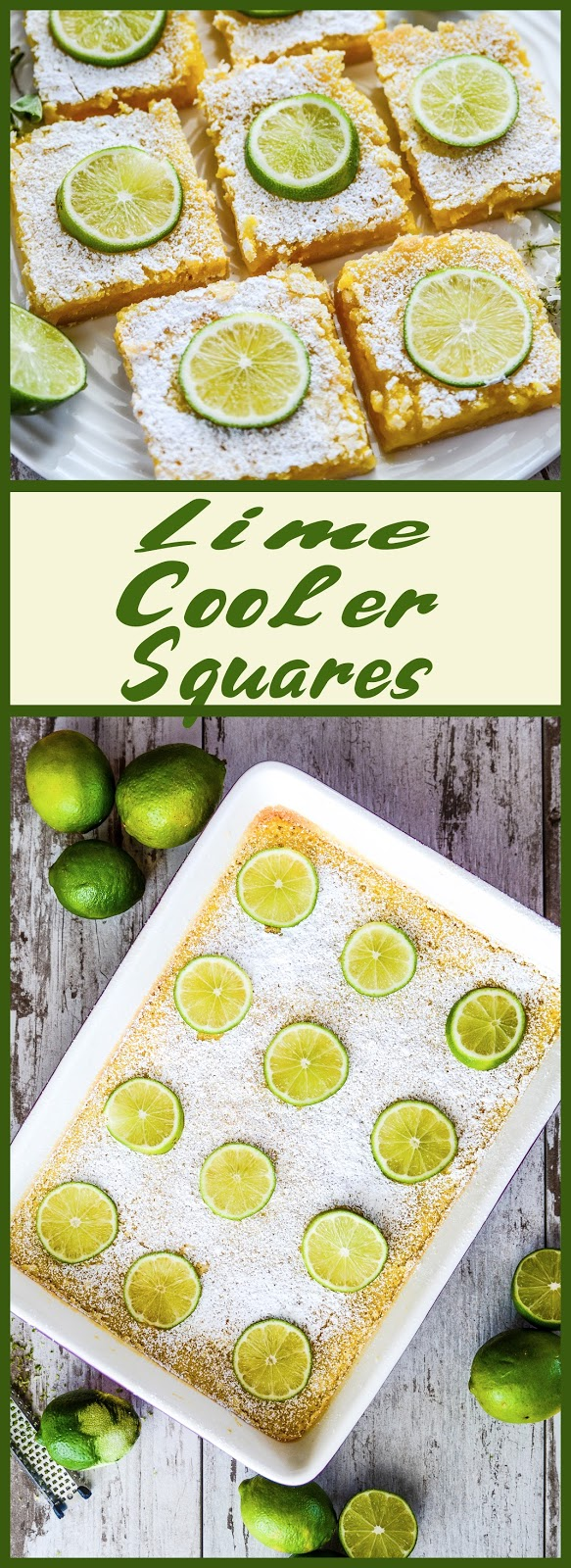 Lime Cooler Squares
