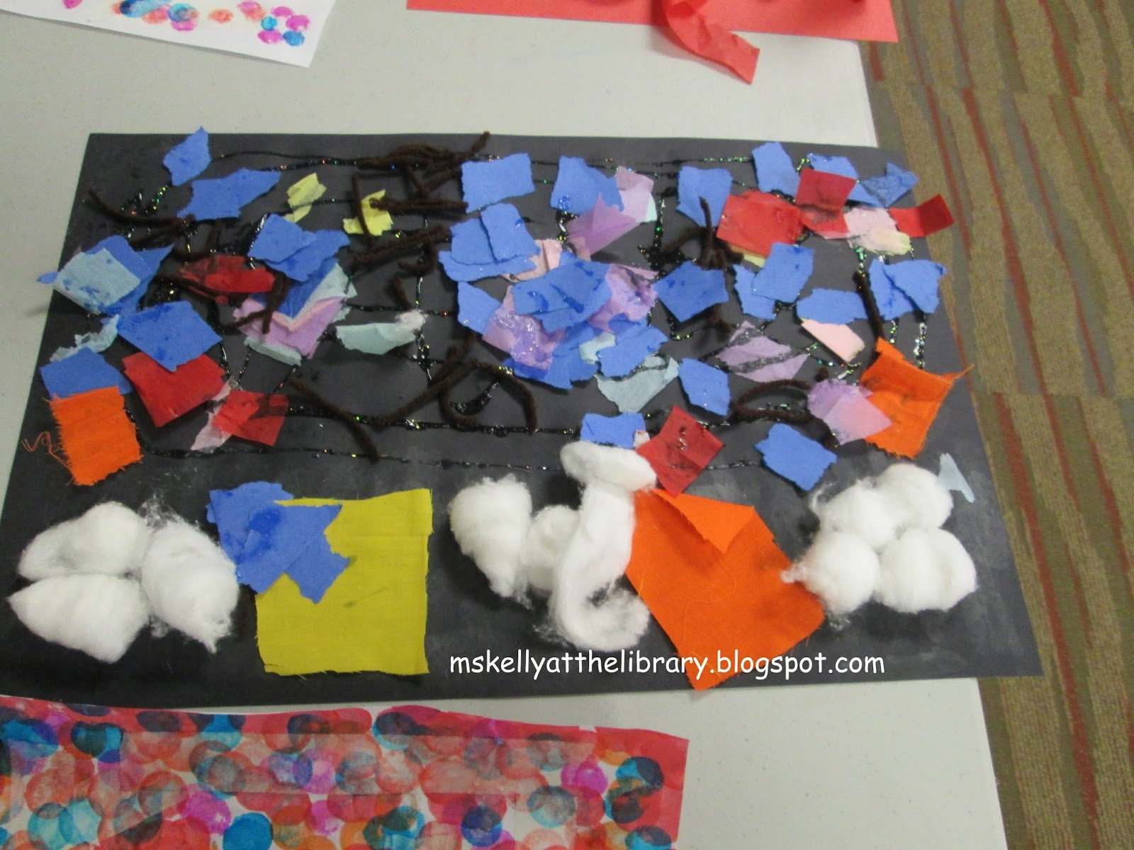 Ms Kelly At The Library Toddler Preschool Art Exploration