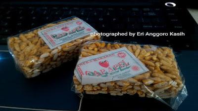 Tengteng, makanan tradisional khas Sunda buatan Cikoneng Ciamis.