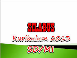 Download Silabus PAI Dan Bahasa Arab Kurikulum 2013 Revisi 2016 Kelas 1-6 MI