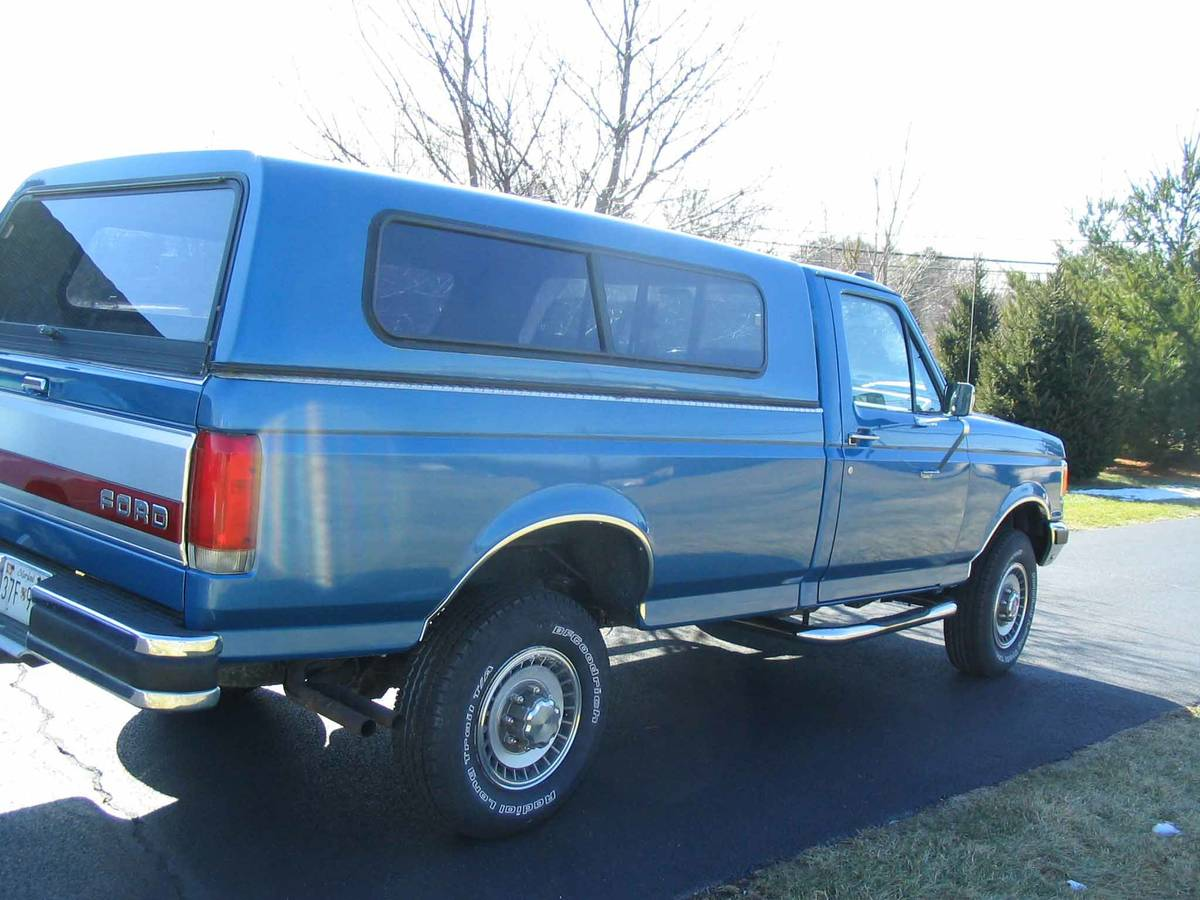Daily Turismo Clean Machine 1989 Ford F 250 4xd Xlt Lariat 1964 Camper Special Beautiful Classic With Low Miles 4wd And A 460 V8 Comes Matching Cap One Owner Family No Accidents I Have The Carfax