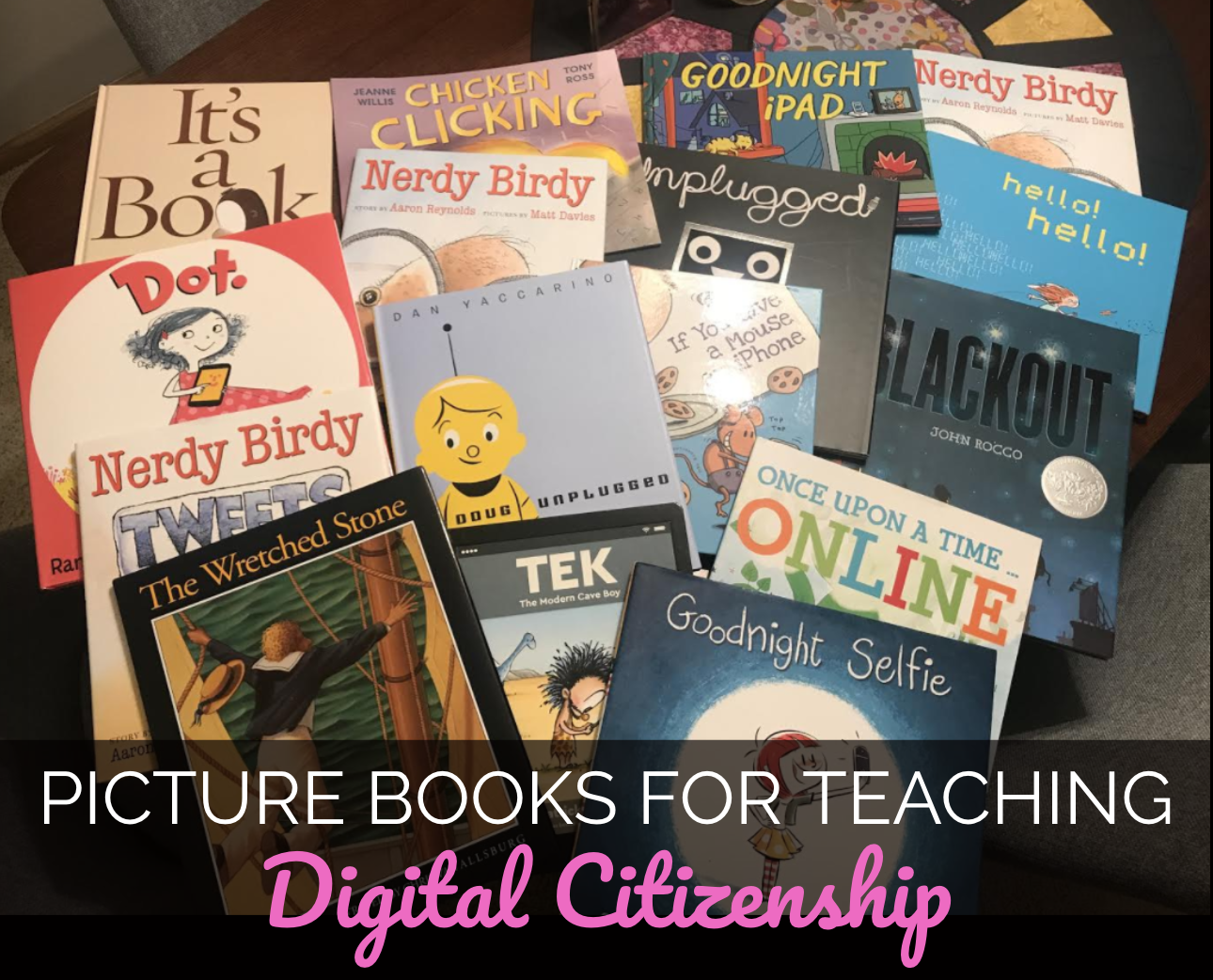 The Library Voice Picture Books For Teaching Digital