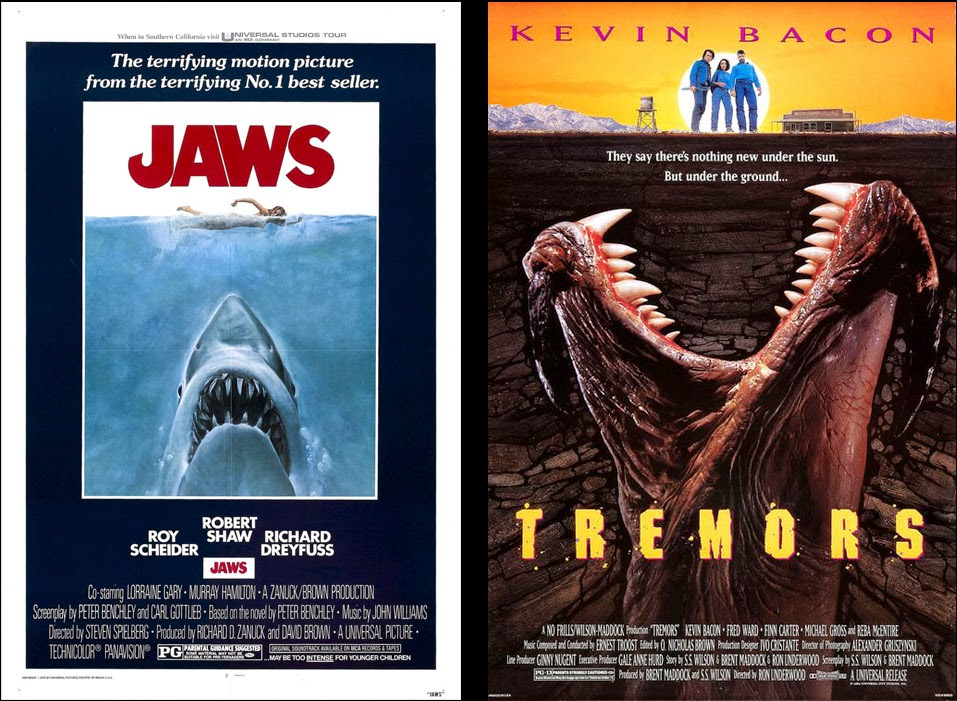 Jaws Tremors Poster