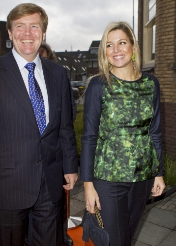 Crown Prince Willem-Alexander and Crown Princess Maxima attend the 10th anniversary meeting of the Oranje Fonds