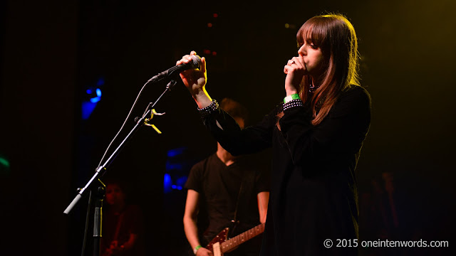 Tess Parks and the Auras at The Danforth Music Hall Toronto June 2, 2015 Photo by John at One In Ten Words oneintenwords.com toronto indie alternative music blog concert photography pictures
