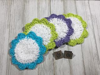 free crochet scrubby pattern