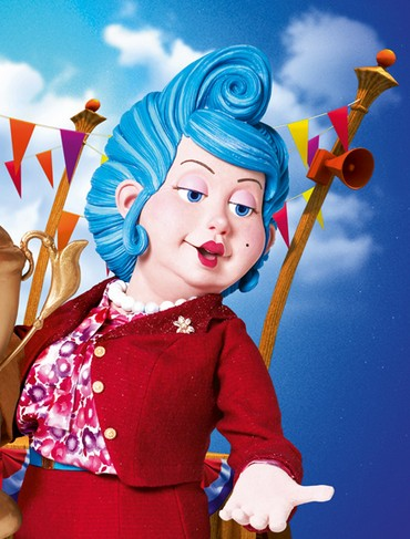 Pics For > Lazy Town Bessie