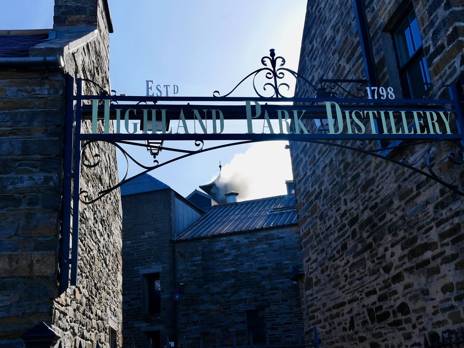 Highland PArk distillery tour and entrance, A trip to Orkney by www.CalMcTravels.com, Orkney, Whisky, Beer, Gin