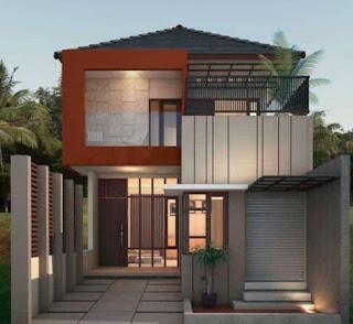 Desain rumah minimalis 2 lantai tampah sederhana dan mewah