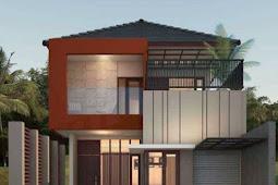 Model Rumah Minimalis 2 Lantai Tampak Mewah