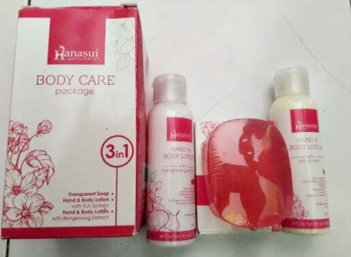 Paket Hanasui Body Care 3In1 Lotion