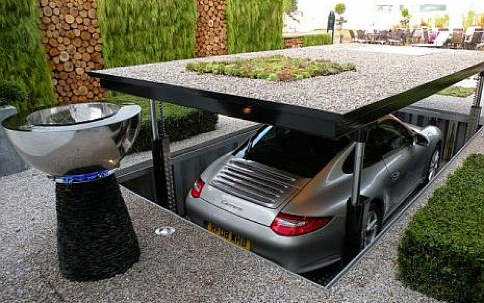 Garasi Minimalis