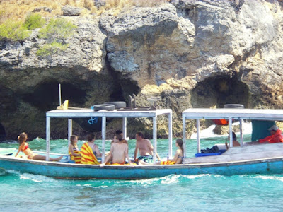 Jalur menuju Pulau Menjangan