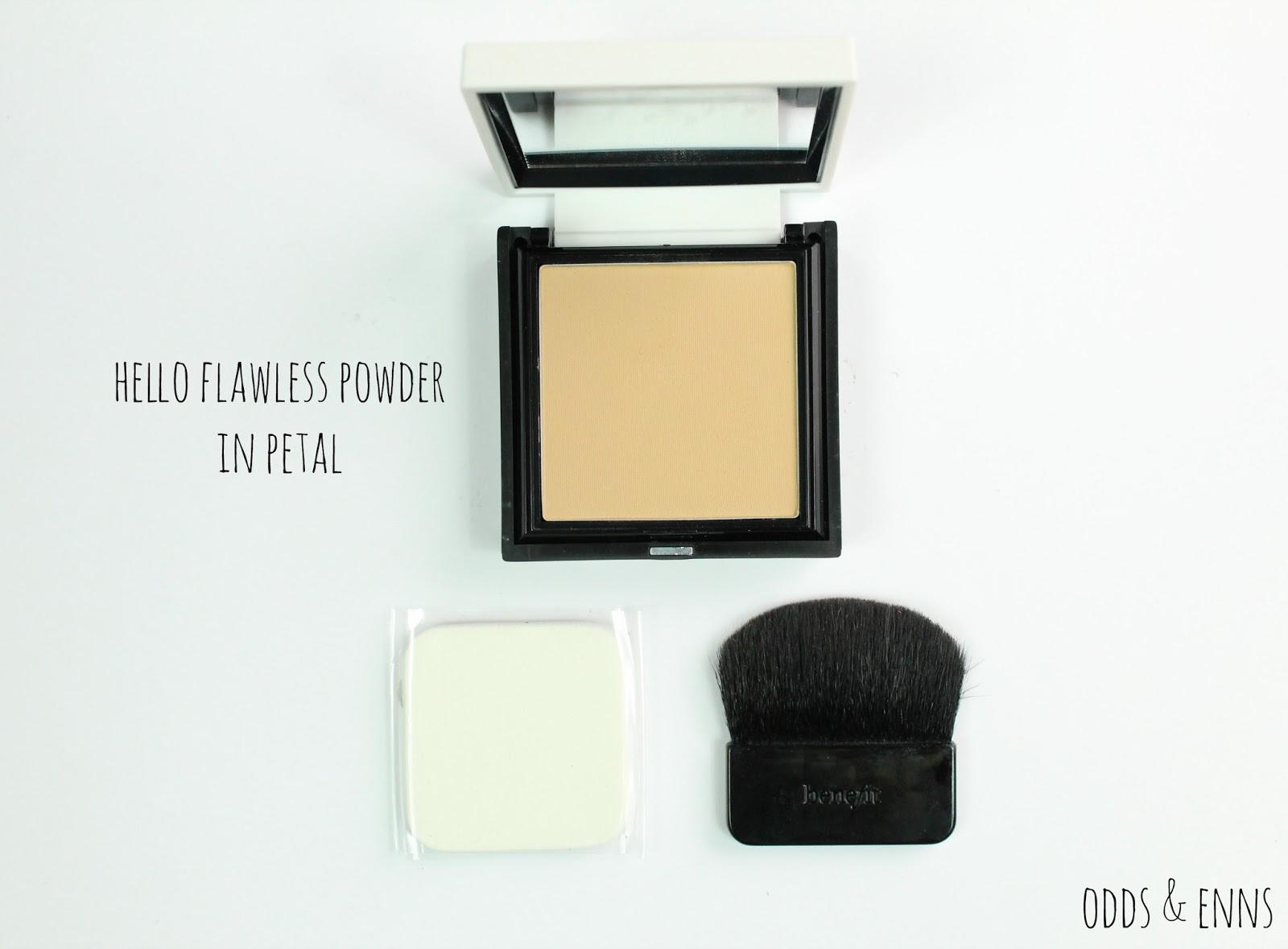 Benefit Hello Flawless Powder Petal Review