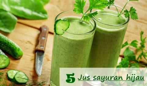 Aneka resep jus sayuran yang enak dan sehat