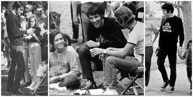 Converse All Star đen trắng là một trong những đôi giày mà huyền thoại âm nhạc Elvis Presley yêu thích nhất