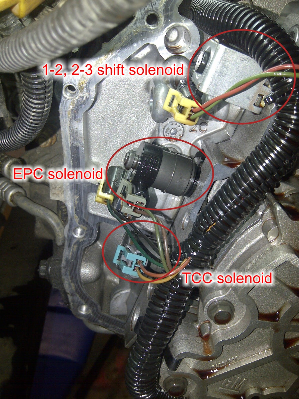 medium resolution of wiring diagram for 4l60e transmission roc grp org at 3 of the 4 solenoids i replaced