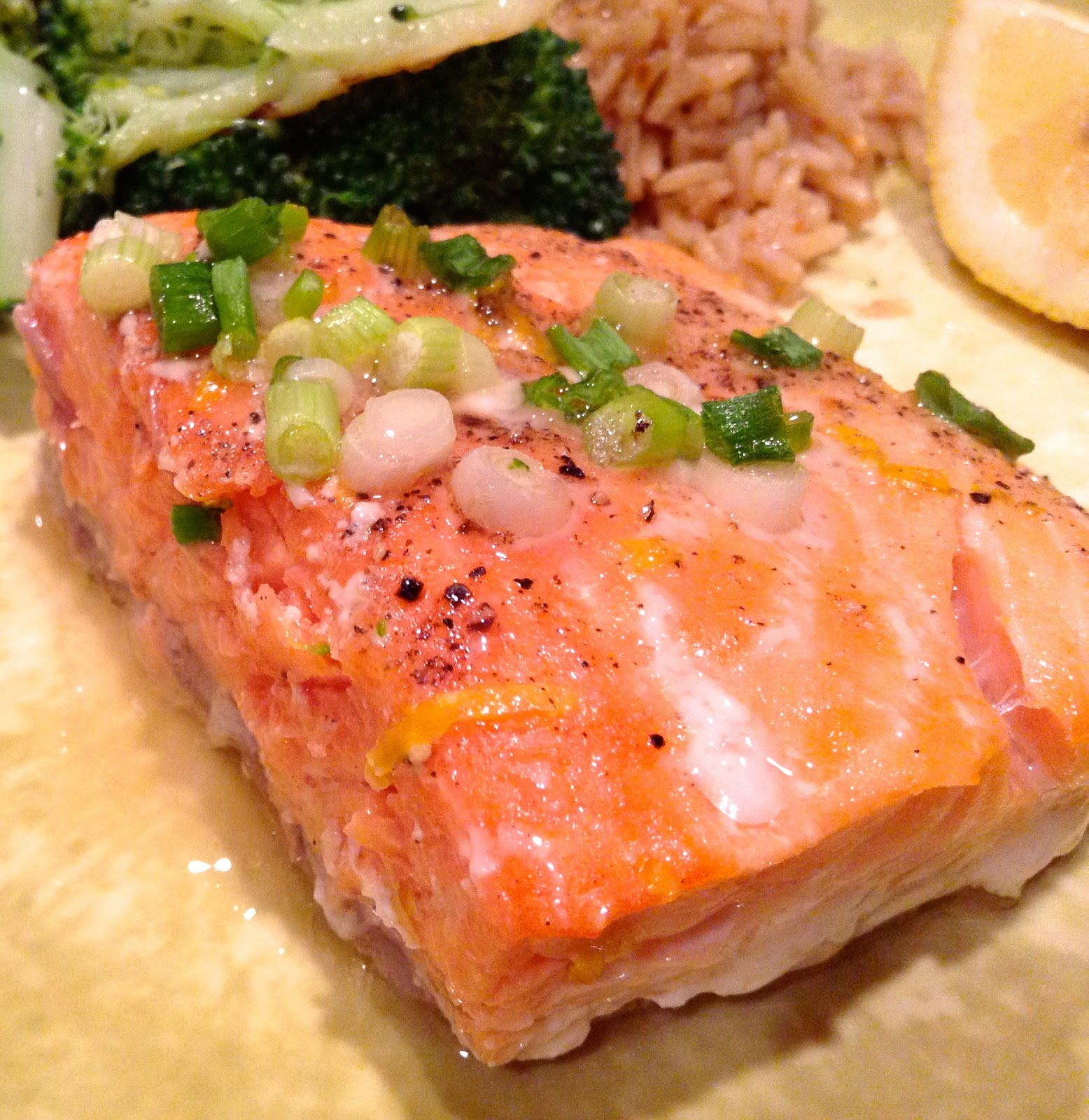 Pure Foods Project: Slow & Low Baked Salmon Fillets