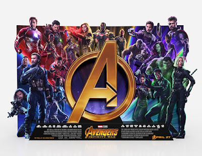 'Vengadores: Infinity War' Standee