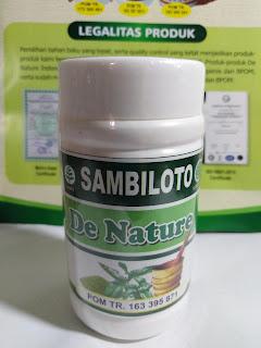 OBAT KAPSUL SAMBILOTO DE NATURE