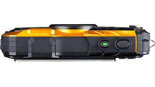 Ricoh WG-50, вид сверху