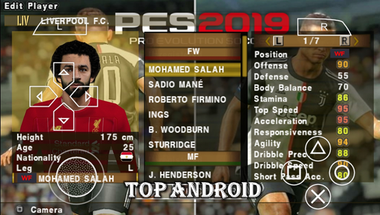 PES 2019 PPSSPP Android Offline 400MB Best Graphics New Kits