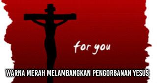 Ini Loh Makna Warna Merah dan Hijau Saat Natal Warna Merah Melambangkan Pengorbanan Yesus.