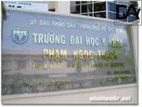 ykh - Đại Học Y Khoa Phạm Ngọc Thạch Tuyển Sinh 20108