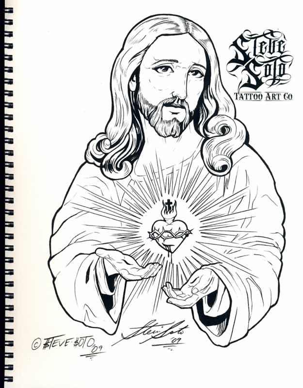 Desenhos Tatuagens Jesus Cristo