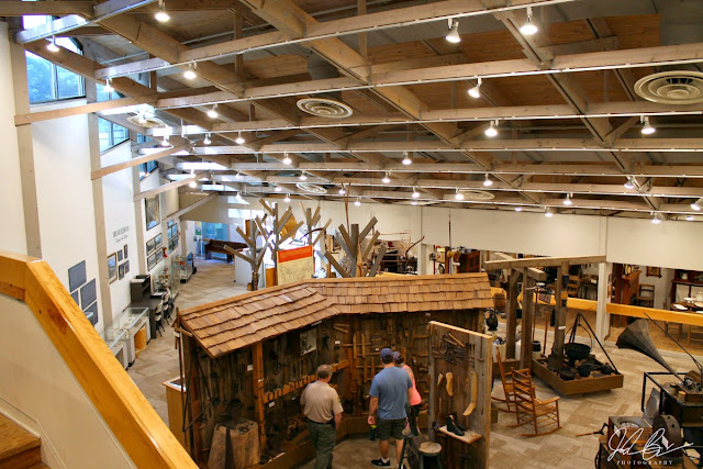 The Lenior Museum located within the Norris Dam State Park is an extensive two story curated collection of artifacts depicting life in southern Appalachia from 12,000 years ago all the way up to present day.