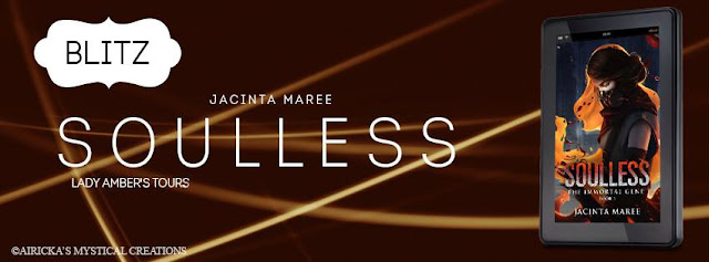 Soulless Release Day Blitz with Jacinta Maree!!
