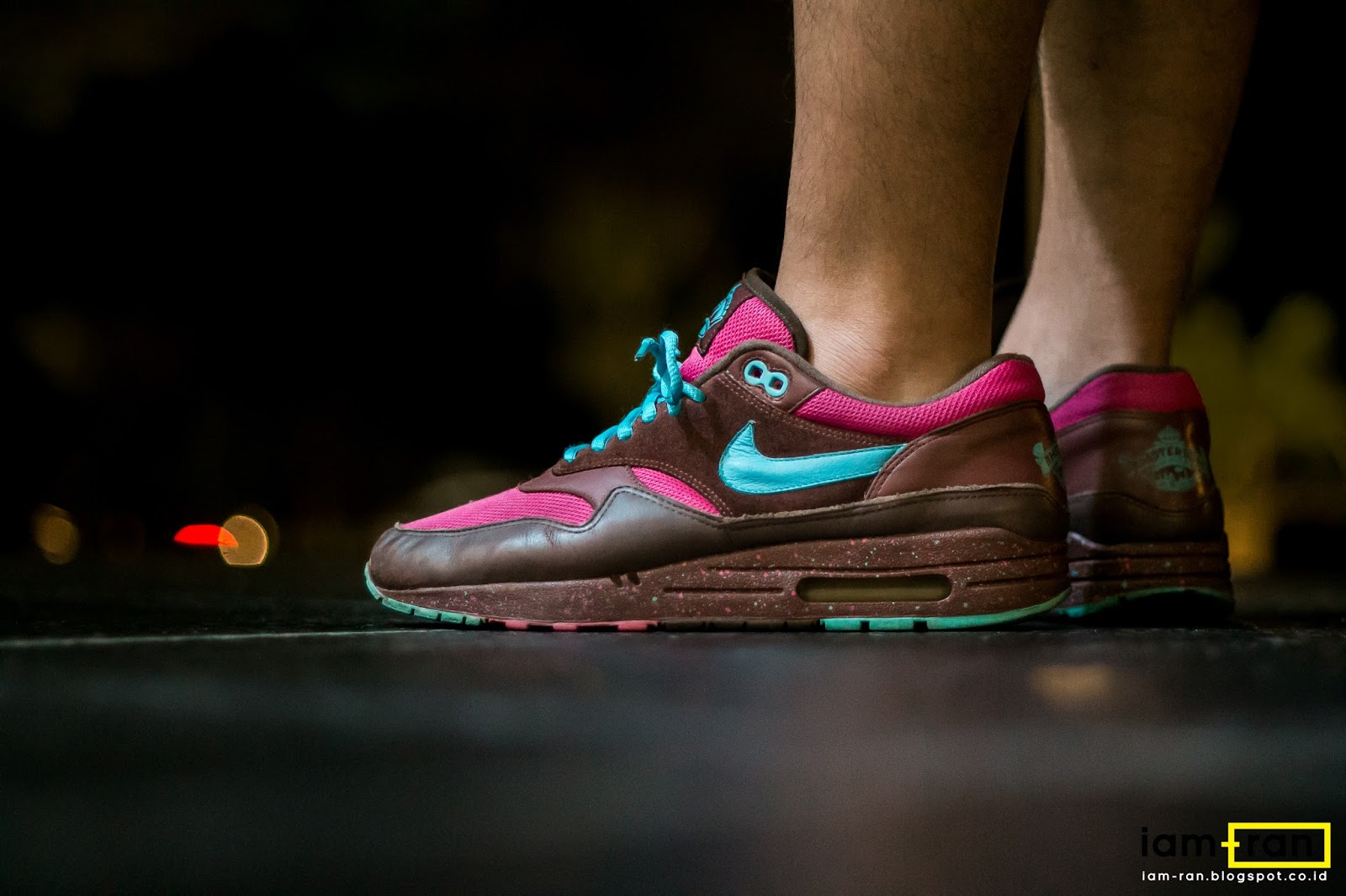 IAM RAN: ON FEET : Leo Nike Air Max 1 x Patta