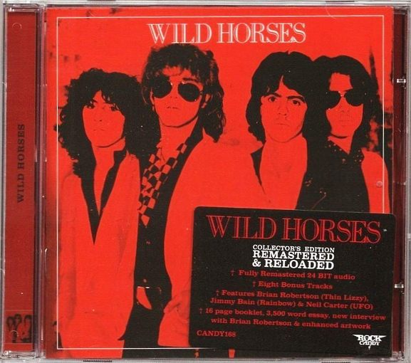 WILD HORSES - Wild Horses [Rock Candy remastered +8] full