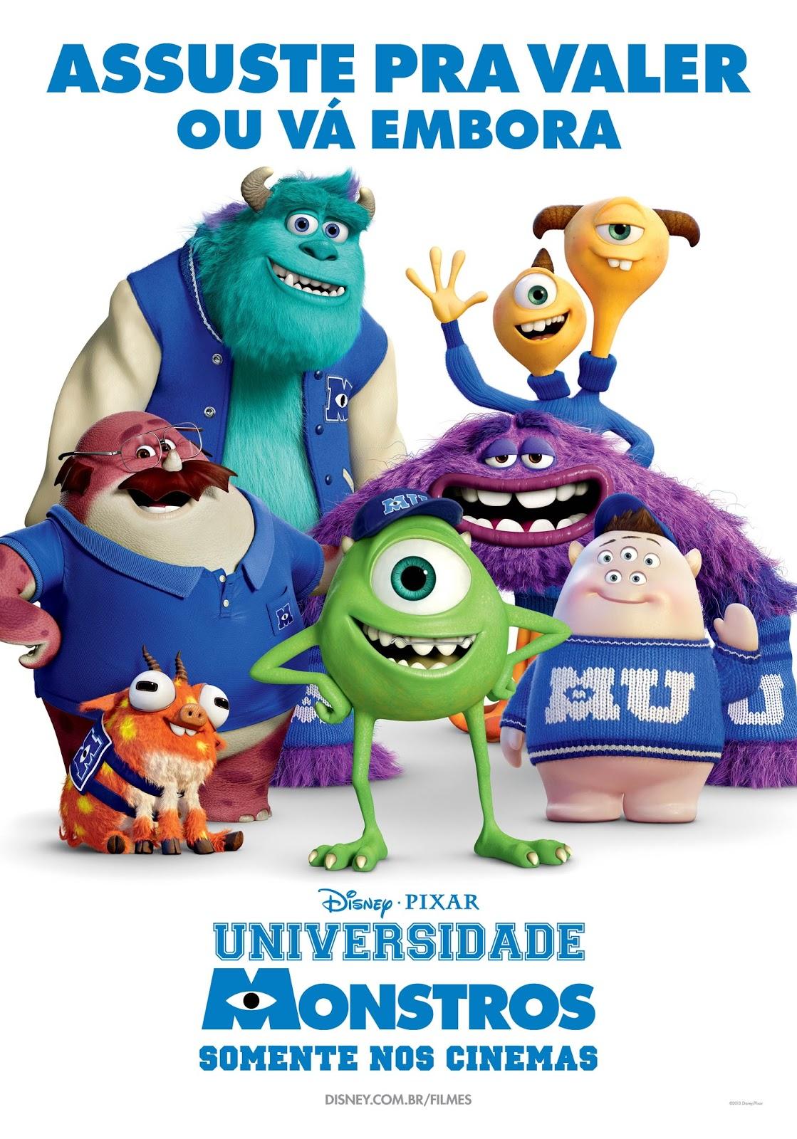 Os Melhores Filmes Infantis Universidade Monstros Filme Completo Avi Rmvb Dublado