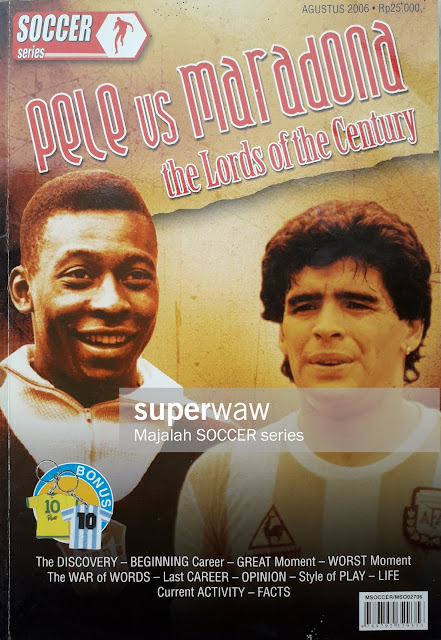 PELE AND MARADONA THE LORDS OF THE CENTURY