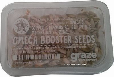 Graze box snack Omega Booster Seeds