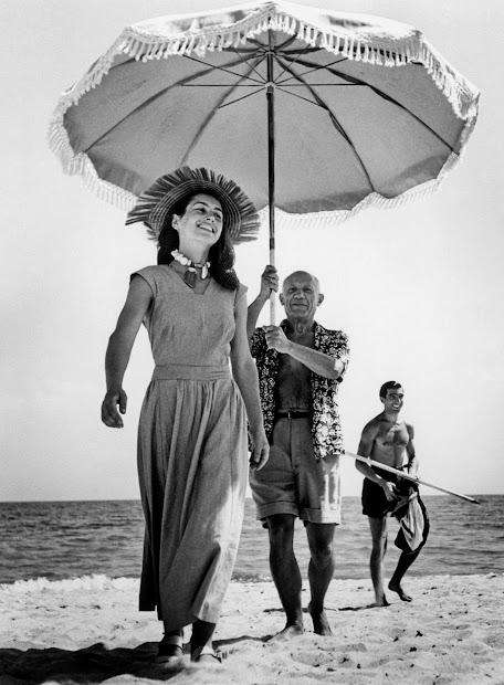 Pablo Picasso and Francoise Gilot