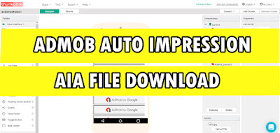 admob auto impression aia file download