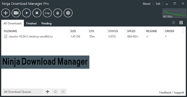 تحميل وتثبيت برنامج ninja download manager