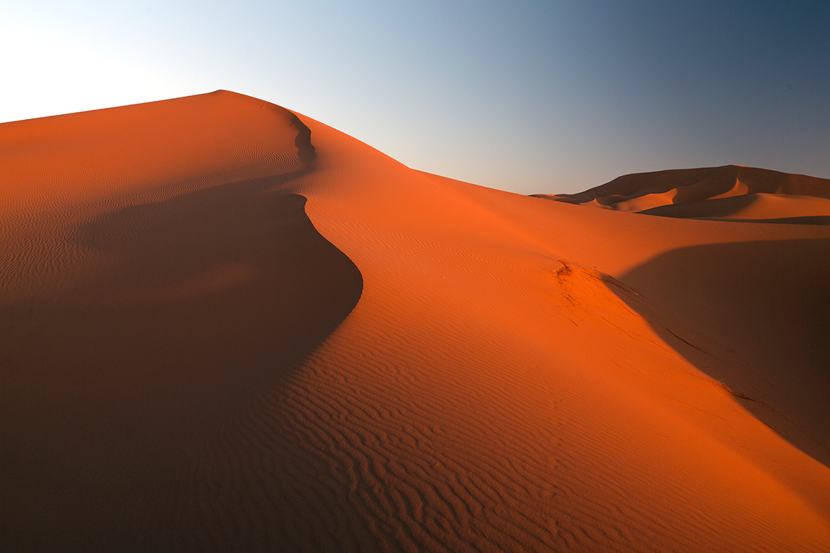Maroko-Merzouga