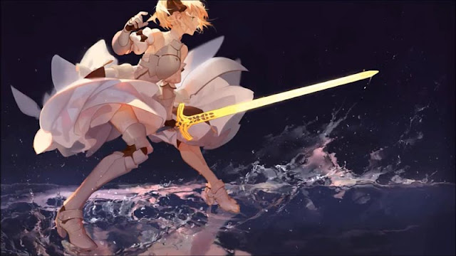 Saber Lily Wallpaper Engine