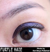 Jesse's Girl Cosmetics - Fluid Shadows - Purple Haze | Kat Stays Polished
