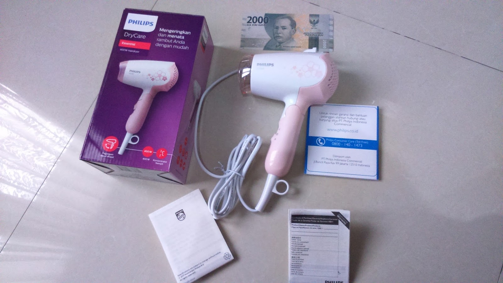 Review   Philips DryCare Essential HP8108 02 400w Hair Dryer - Kata ... 485c5f2c3f