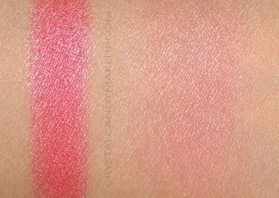 NARS Man Ray Blush Fetishized Swatch
