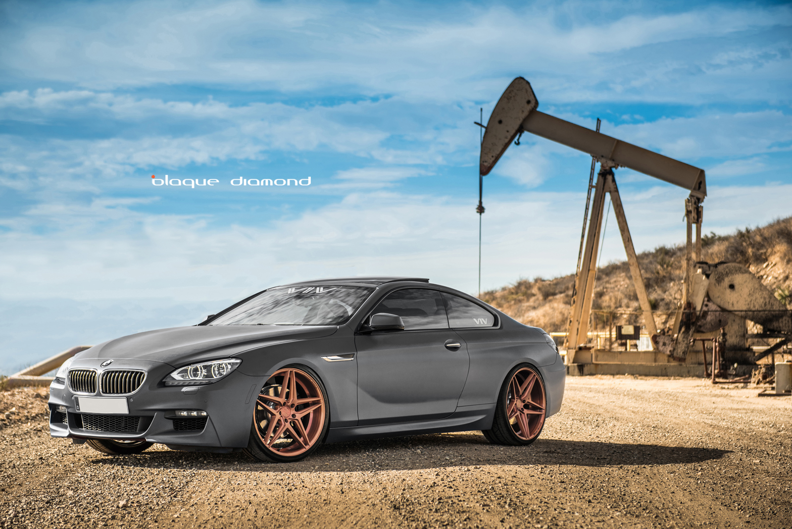 2015 Bmw 640i Fitted With 20 Inch Bd 8 S In Rose Gold