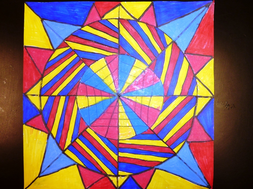 Marys Art Spot Fifth Grade Mandalas