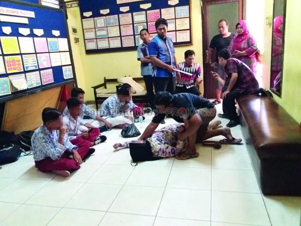 Astagfirullah, Murid SD Pesta Miras di Kelas dan Menantang Guru Duel