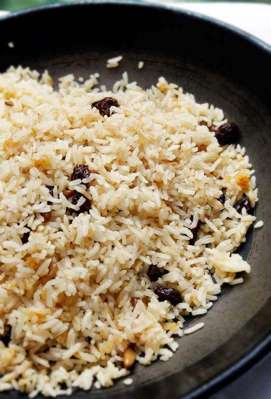 Turkish Rice with Nuts