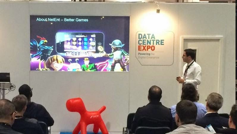 DataCore at IP Expo Europe today and tomorrow! Virtual SAN offer; Customer Net Entertainment drives over Billion transactions Abstract puppy and more ;