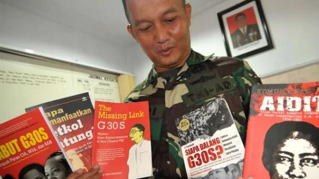 Aparat Sita Puluhan Buku Tema PKI dan Komunisme di Kediri
